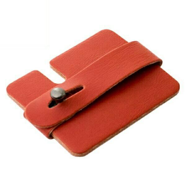 ミヨシ カード型 コードホルダー レッド ヘッドホン・イヤホンコードリール AAC-IH02/RD