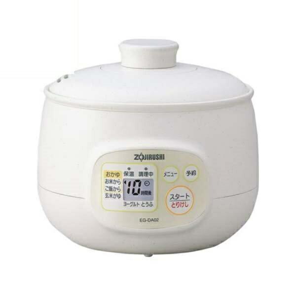 【送料無料】象印 おかゆメーカー ホワイト ヨーグルト 豆腐メーカー EG-DA02-WB