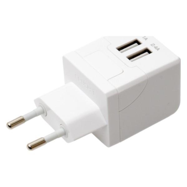 ミヨシ 海外/日本両対応 変換プラグ付USB-ACアダプタ Cタイプ MBP-TC01