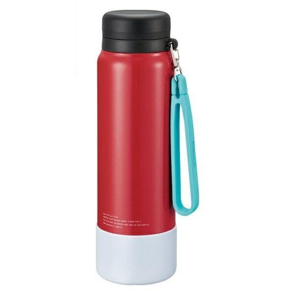 【送料無料】ピーコック ステンレスマグボトル シグナルレッド 1.0L(1000ml) 保冷・保温 水筒 直飲み スポーツ AKD-RS100-RSG