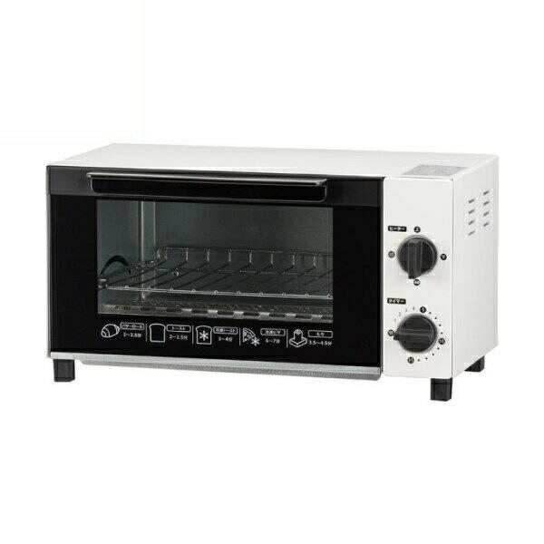 【送料無料】OHM オーブントースター ホワイト 08-1204 COK-YH100A-W