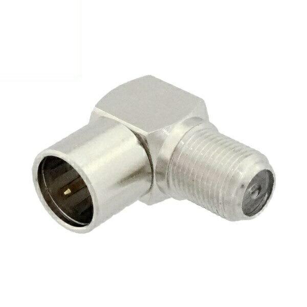 3Aカンパニー アンテナL型変換プラグ プッシュプラグ L型接栓 1個 DAD-PL 【返品保証】