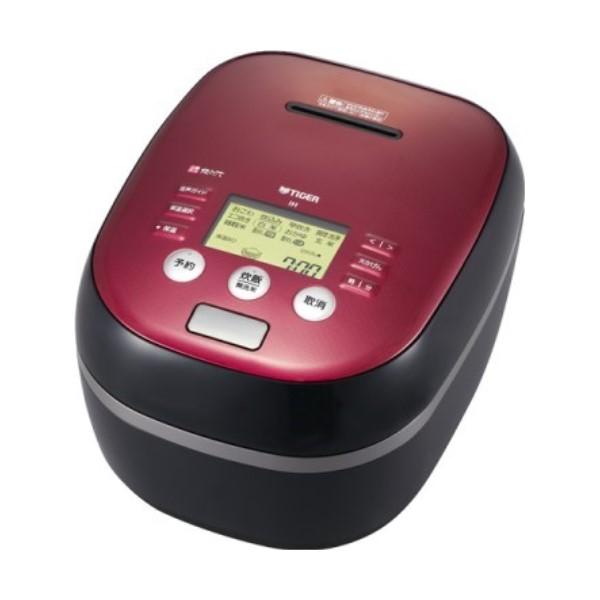 【送料無料】タイガー 土鍋圧力IH炊飯ジャー 炊きたて 5.5合炊き ボルドーブラック JPH-B101-KB コンパクト IH炊飯器