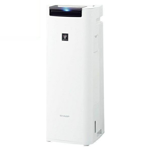 【送料無料】シャープ プラズマクラスター加湿空気清浄機 プラズマクラスター25000 10畳 ホワイト KI-HS40-W