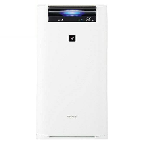 【送料無料】シャープ プラズマクラスター加湿空気清浄機 プラズマクラスター25000 16畳 ホワイト KI-HS70-W
