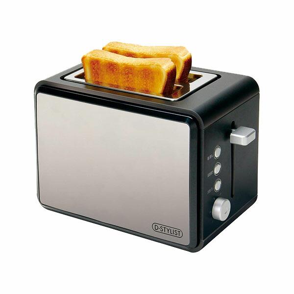 【送料無料】ポップアップトースター ノワール クラシックトースター パン焼き ステンレス KK-00415