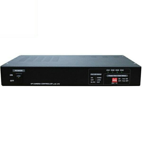 【送料無料】マザーツール UTC対応ワンケーブルAHDカメラ用電源ユニット 4チャンネル 電源重畳式 18-0082 MT-POC4RX
