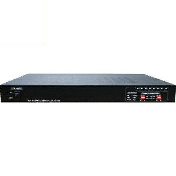 【送料無料】マザーツール UTC対応ワンケーブルAHDカメラ用電源ユニット 8チャンネル 電源重畳式 18-0083 MT-POC8RX