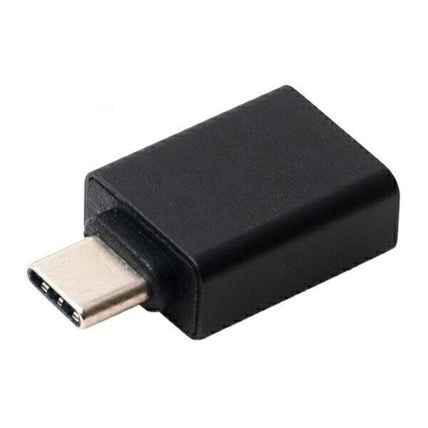 【メール便送料無料】ミヨシ USB3.0 Type-A(メス)-Type-C(オス)変換アダプタ USA-AC Type-AをType-Cに変換