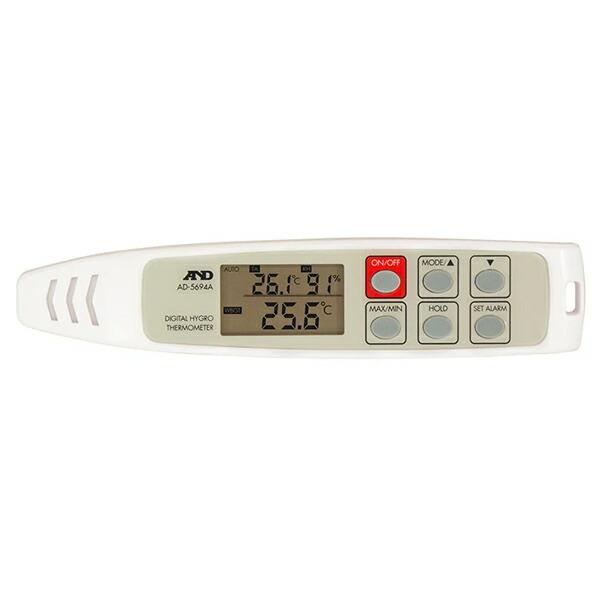 A&D/エー・アンド・デイ 携帯型 熱中症指数・温湿度計 AD-5694A