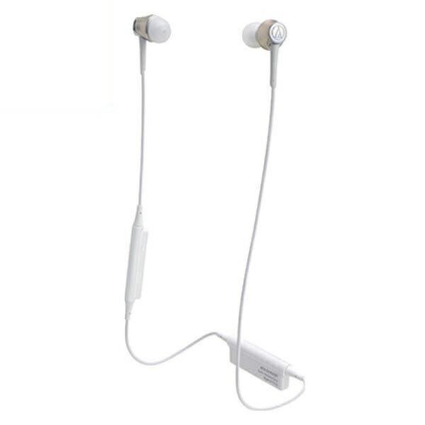 【送料無料】オーディオテクニカ Bluetooth ワイヤレスヘッドホン aptx/AAC対応 シャンパンゴールド ATH-CKR55BTCG