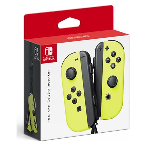 任天堂 ニンテンドースイッチ用 Joy-Con (L)ネオンイエロー/(R)ネオンイエロー HAC-A-JADAA Nintendo Switch用 オプション