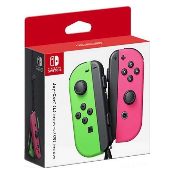 任天堂 ニンテンドースイッチ用 Joy-Con (L)ネオングリーン/(R)ネオンピンク HAC-A-JAFAA Nintendo Switch用 オプション