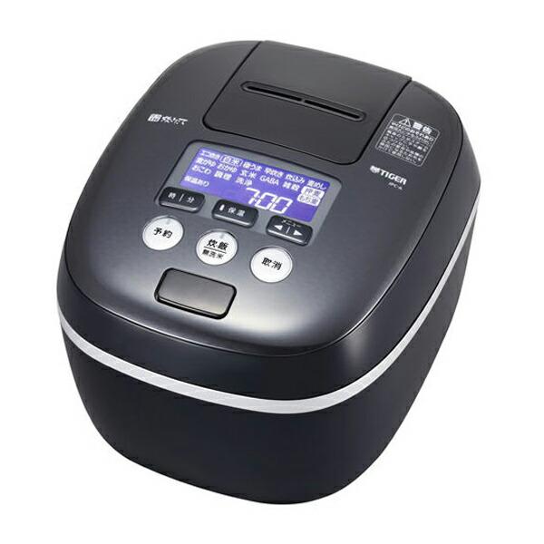 【送料無料】タイガー 圧力IH炊飯ジャー 5.5合炊き 炊きたて 熱流&熱封土鍋コーティング アーバンブラック JPC-A102-KE