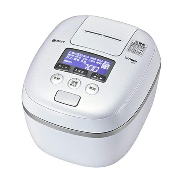 【送料無料】タイガー 圧力IH炊飯ジャー 5.5合炊き 炊きたて 熱流&熱封土鍋コーティング アーバンホワイト JPC-A102-WE