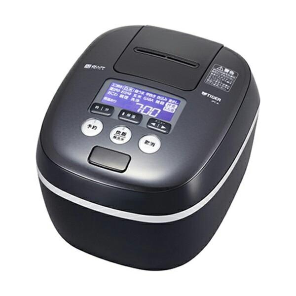 【送料無料】タイガー 圧力IH炊飯ジャー 1升炊き 炊きたて 熱流&熱封土鍋コーティング アーバンブラック JPC-A182-KE