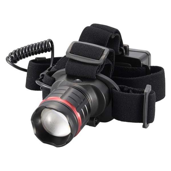 OHM LEDヘッドライト 230lm IPX4 ブラック 07-8747 LC-Z23B7