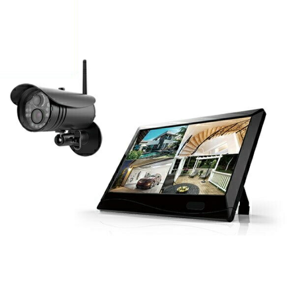 【送料無料】マザーツール 高解像度ワイヤレスセキュリティカメラシステム MT-WCM300