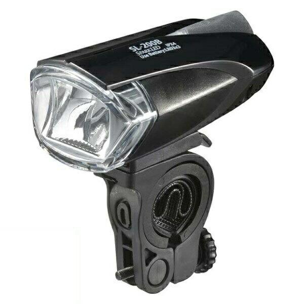 【送料無料】OHM LEDサイクルライト ブラック 07-8992 SL-200B-K