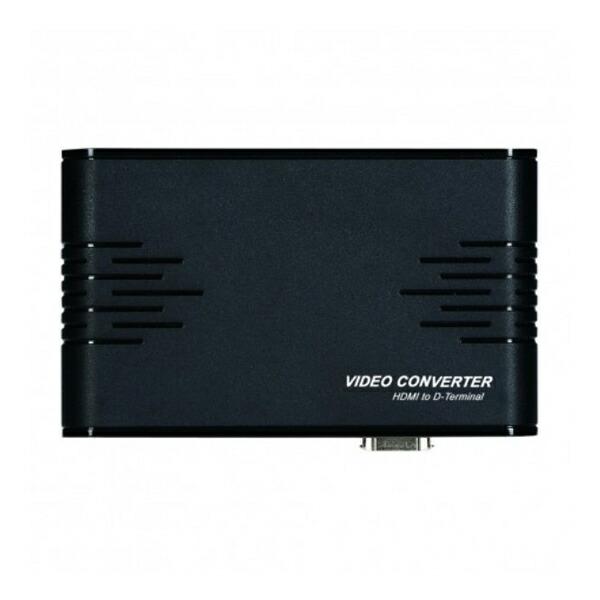 【送料無料】テック HDMI-D端子変換器 HDMI to D端子コンバーター THDMIDT HDMIをD端子に変換
