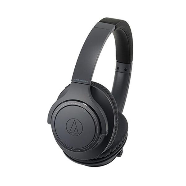 【送料無料】オーディオテクニカ Bluetooth ワイヤレスヘッドホン ブラック SoundReality ATH-SR30BTBK