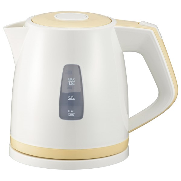 【送料無料】OHM 電気ケトル 1.0L オレンジ 08-1206 COK-WS90A-U 電気 ケトル やかん ヤカン ポット