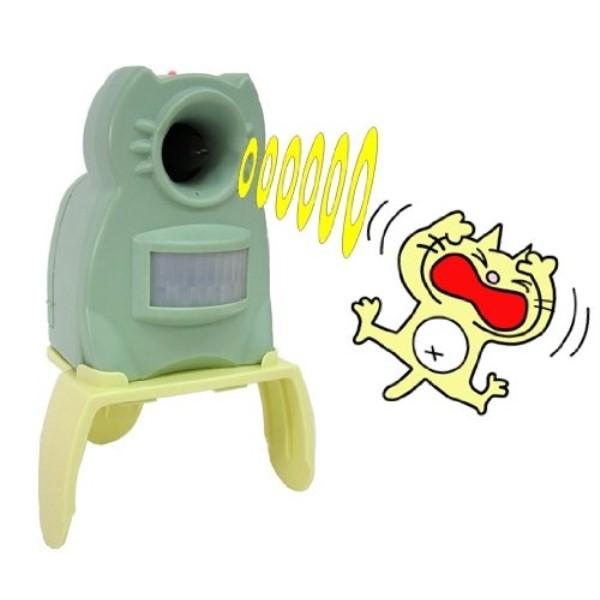 【送料無料】ユタカメイク 猫よけ ガーデンバリアミニ 6台セット 電池式(別売) GDX-M-6P 猫 ネコ 退治 撃退 糞尿 対策