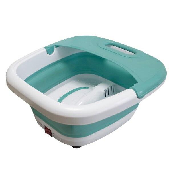 【送料無料】折りたたみ式フットバス 保温・バブル機能付 足浴器 MA-818 コンパクト 足湯 フットバス 加熱機能なし
