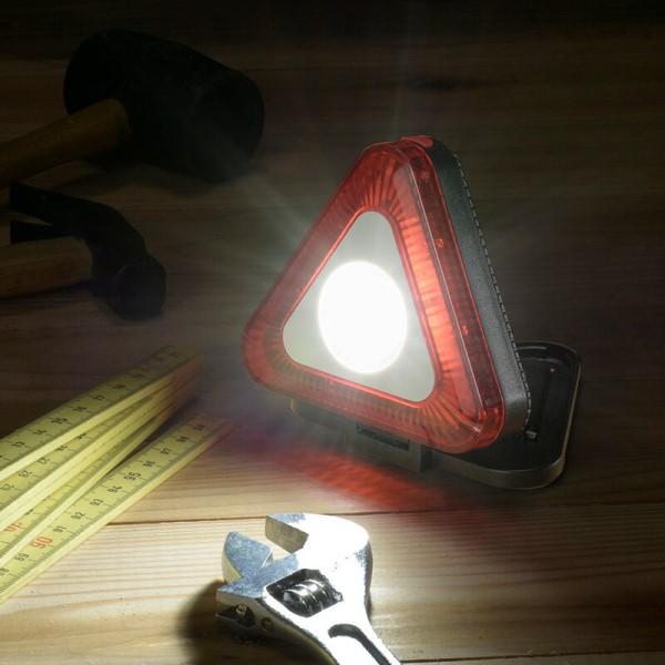 【送料無料】OHM LED多目的作業ライト 三角型 200lm 電池式 07-8888 SL-W200TRI 防災 防犯 アウトドア用