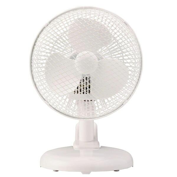 【年中無休】【送料無料】アピックス 2WAYクリップファン AC電源式 AFM-169-WH 卓上扇風機 ポータブル扇風機