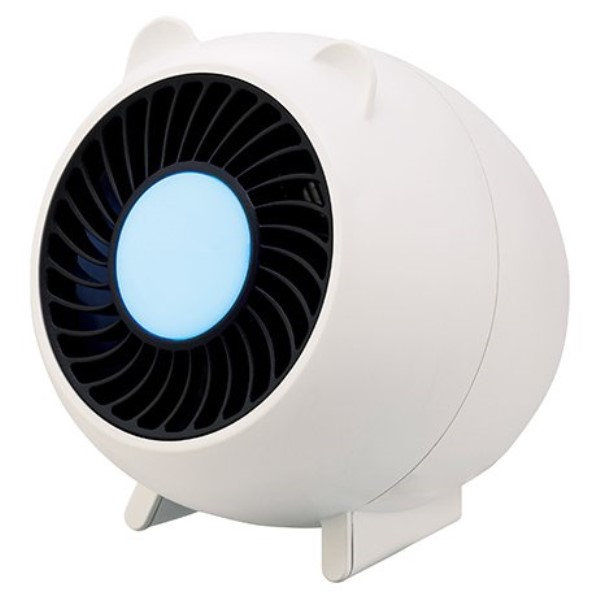 【送料無料】アピックス LED蚊取り捕虫器 USB蚊取り捕虫器 ホワイト ぶたさん蚊取り AIC-70S-WH