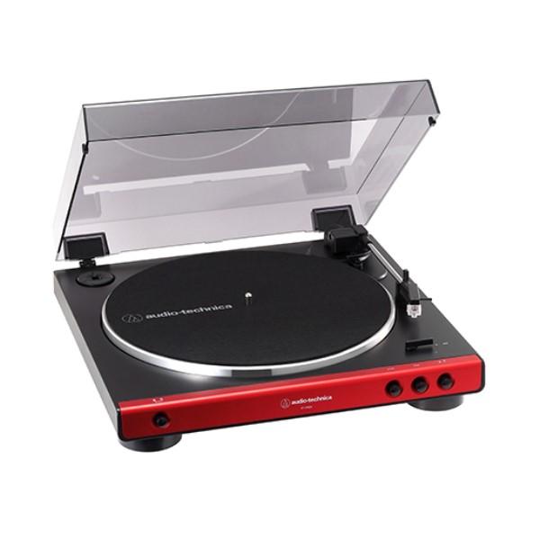 【送料無料】オーディオテクニカ フルオートターンテーブル レッド AT-LP60XRD レコードプレーヤー おすすめ