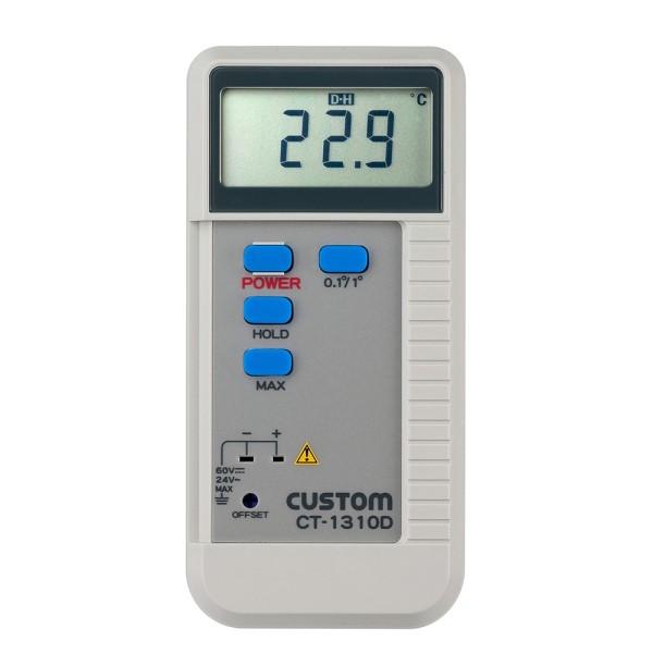 【送料無料】カスタム デジタル温度計 Kタイプ(1ch) CT-1310D