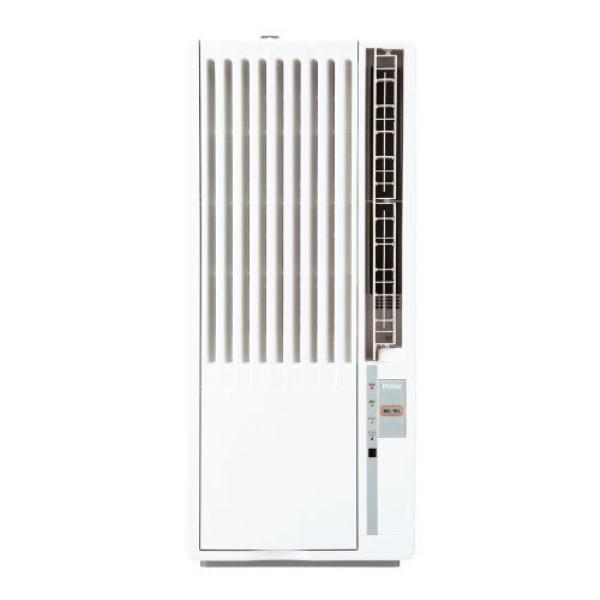 【送料無料】ハイアール 窓用エアコン 4.5~8畳用 冷房専用 ノンドレン 工事不要 JA-18T-W  冷房 ドライ 送風 【代金引換不可・キャンセル不可】