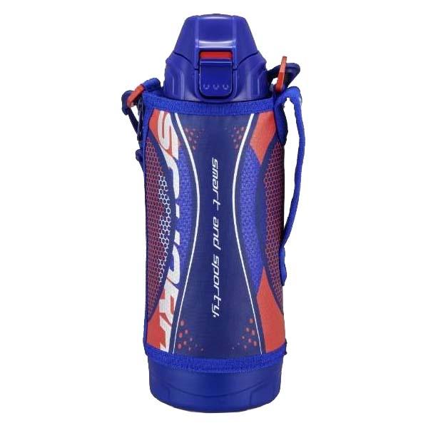 【送料無料】タイガー ステンレスボトル サハラ 2WAY 0.8L ブルー 保冷・保温 直飲み&コップ MBO-H080-A 遠足 スポーツ 旅行 登山 水筒