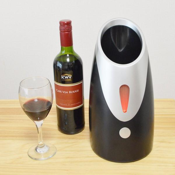 【送料無料】サンコー 卓上ワインクーラー 1本用 7~18℃設定 WINECLSG 小型 ポータブル ワインセラー