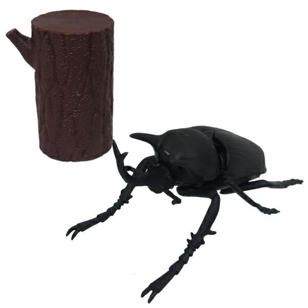 【年中無休】昆虫パズルフィギュア アクテシオンゾウカブト リアル昆虫フィギュア 組立 立体パズル エール YPF-2019-AZK 昆虫 パズル おもちゃ 知育玩具
