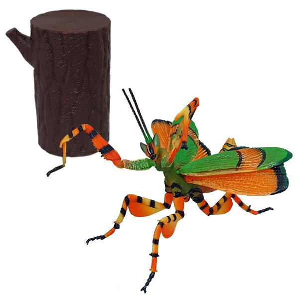 【年中無休】昆虫パズルフィギュア ハナカマキリ リアル昆虫フィギュア 組立 立体パズル エール YPF-2019-HKM 昆虫 パズル おもちゃ 知育玩具