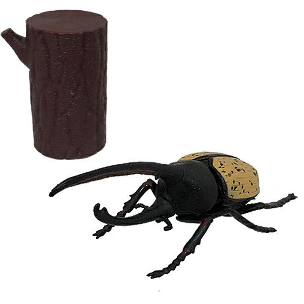 【年中無休】昆虫パズルフィギュア ヘラクレスオオカブト リアル昆虫フィギュア 組立 立体パズル エール YPF-2019-HOK 昆虫 パズル おもちゃ 知育玩具
