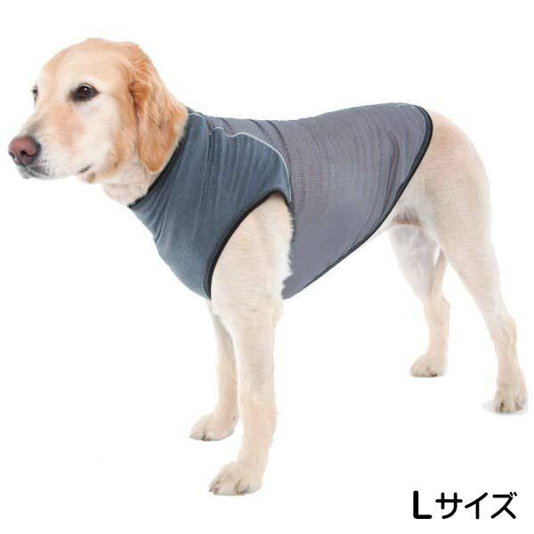 【送料無料】インセクトシールド 虫よけ犬用Tシャツ グレー L Doggles 550850 ドッグウェア 虫よけ 防虫