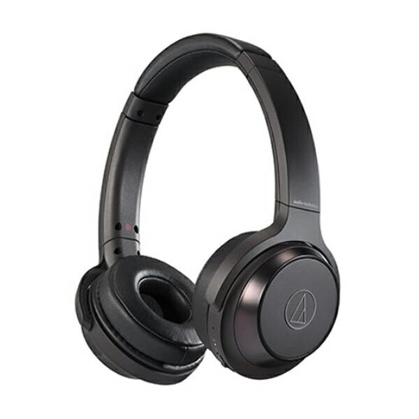 【送料無料】オーディオテクニカ Bluetooth ワイヤレスヘッドホン SOLID BASS ブラック ATH-WS330BTBK オーテク ヘッドホン イヤホン