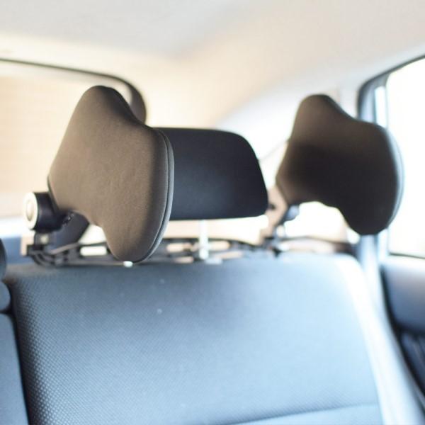 【送料無料】サンコー 車内で快適睡眠 ヘッドレストまくら CUHRCAPA 旅行 トラベル ドライブ 睡眠グッズ
