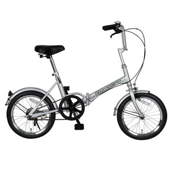 【送料無料】FIELD CHAMP 折りたたみ自転車 軽量・コンパクト 16インチ FTB16 NO72750 【メーカー直送・代金引換不可・キャンセル不可】