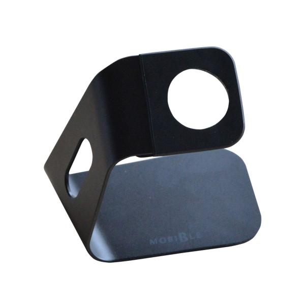 【送料無料】ミヨシ Apple Watch用 アルミスタンド ブラック SST-14/BK Apple Watchスタンド おしゃれ かわいい デザイン
