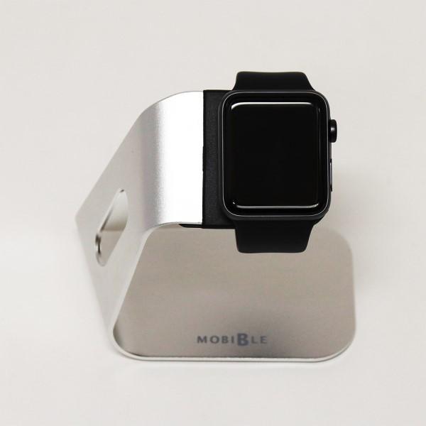 【送料無料】ミヨシ Apple Watch用 アルミスタンド シルバー SST-14/SL Apple Watchスタンド おしゃれ かわいい デザイン