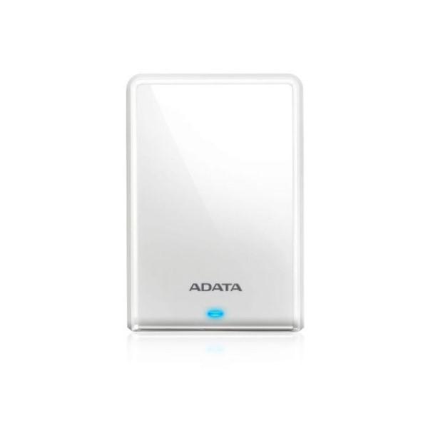 【送料無料】ADATA ポータブルハードディスクドライブ 外付けHDD 1TB ホワイト USB3.2 Gen1対応 11-0190 AHV620S-1TU31-CWH