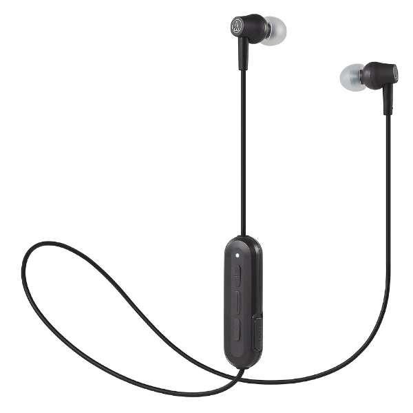 【送料無料】オーディオテクニカ Bluetooth ワイヤレスイヤホン ブラック ATH-CK150BTBK