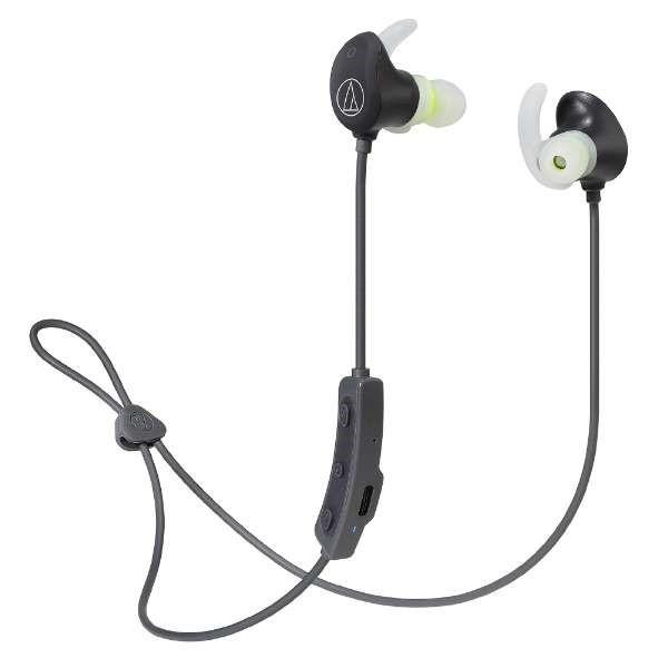 【送料無料】オーディオテクニカ Bluetooth ワイヤレスヘッドホン ブラック SONICSPORT ATH-SPORT60BTBK