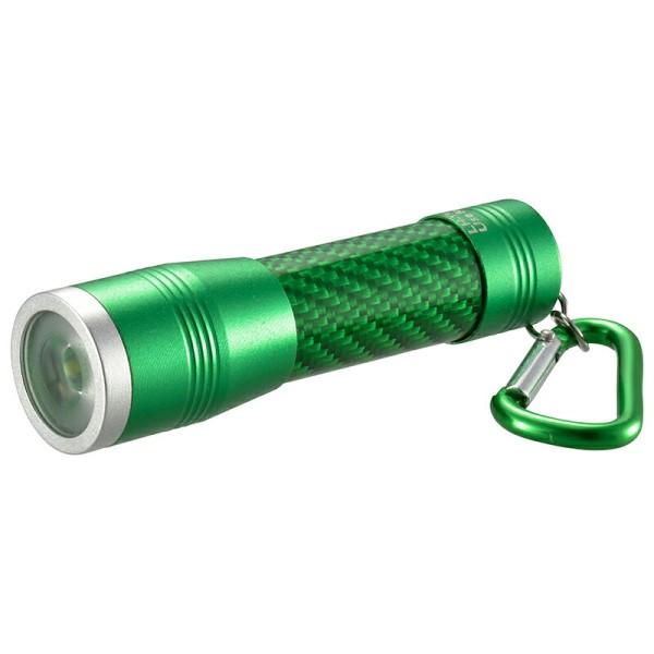 【メール便送料無料】LEDミニライト 100lm グリーン IPX4(防飛まつ) OHM 08-0970 LH-YM31-G 防災 アウトドア LED 懐中電灯 ハンディライト