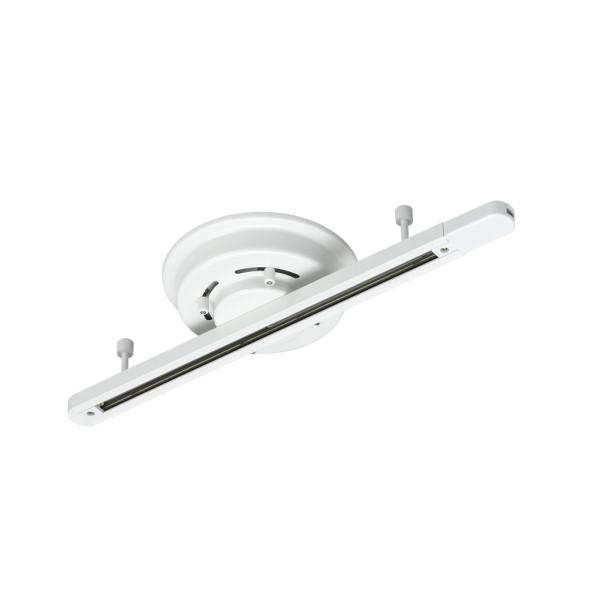 【送料無料】ヤザワ シーリング直付けライティングダクトレール 500mm ホワイト LRD501WH ライティングレール照明